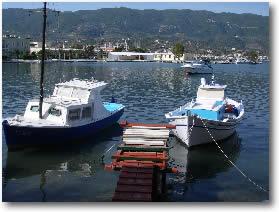 fishing boats Greece Mediterranean Yacht Charter Holidays
