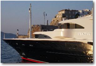 Mega Yacht  Hydra Greece Mediterranean Yacht Charter Holidays
