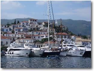 Poros Greece Mediterranean Yacht Charter Holidays