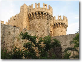 Rhodes, Greece Knights Castle Greece Mediterranean Yacht Charter Holidays