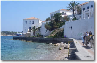 Greek Island of Spetses Greece Mediterranean Yacht Charter Holidays