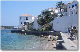 Greek Island of Spetses Greece Mediterranean Yacht Charter Holidays