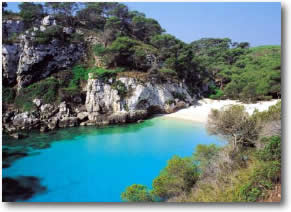 Balearic Island beach Spain Yacht Charter Itinerary